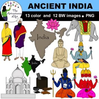 Ancient India Clip Art