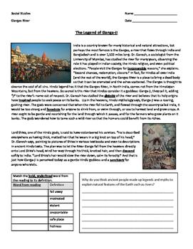 Ancient India - Legend of Ganges River