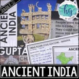 Ancient India PowerPoint and Guided Notes {Harappa, Maurya