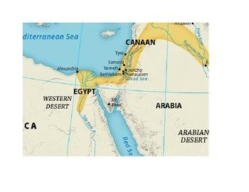 Ancient Israel Map