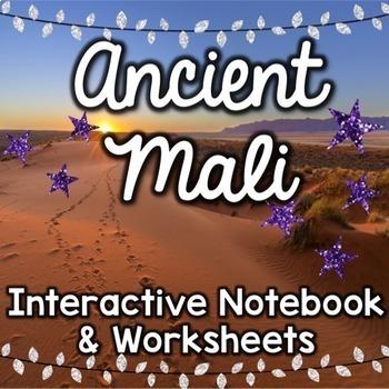 Ancient Mali - Social Studies Interactive Notebook & Worksheets