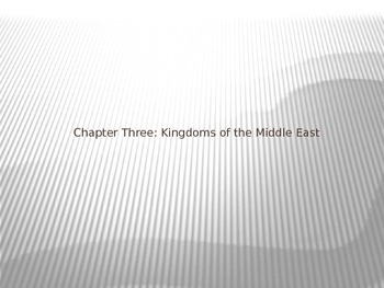 Ancient Middle Eastern Kingdoms