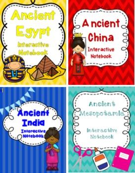 Ancient River Valley Civilizations Interactive Notebook Bundle