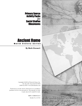 Ancient Rome Activity Pack