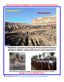 Ancient Rome - Document Based Questions (DBQs)