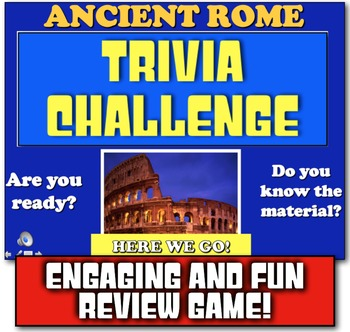 Ancient Rome Trivia Challenge Review! Play Jeopardy-like G