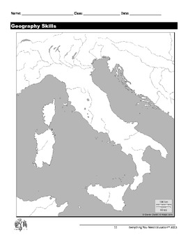 Ancient Rome Lesson: Geography of Ancient Rome