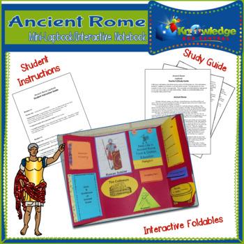Ancient Rome Mini-Lapbook