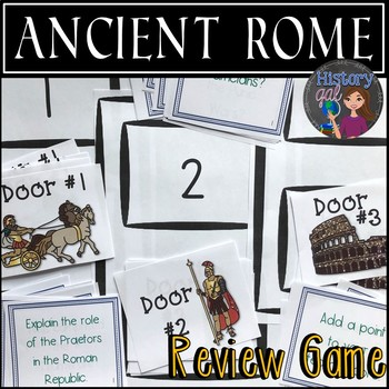 Ancient Rome Review Game