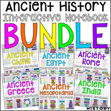 Ancient World History Interactive Notebook and Graphic Org
