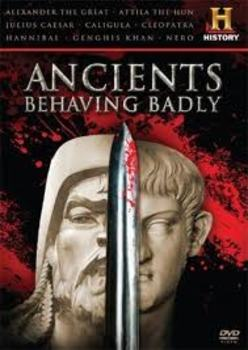 Ancients Behaving Badly: Cleopatra fill-in-the-blank movie