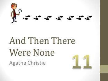 And Then There Were None Chapter Eleven Teaching Resources