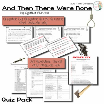 And Then There Were None Quiz Bundle