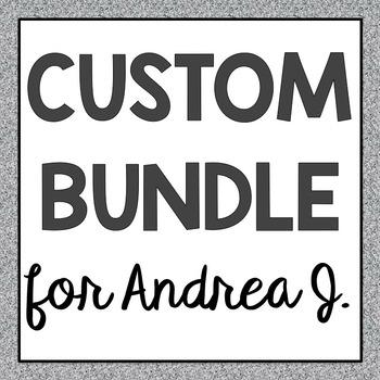 Andrea J.'s INB and PP Custom Bundle