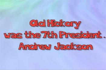 President Andrew Jackson - Music Video Bundle (with quiz)