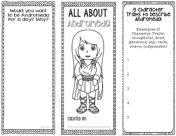 Andromeda - Greek Mythology Biography Research Project - I