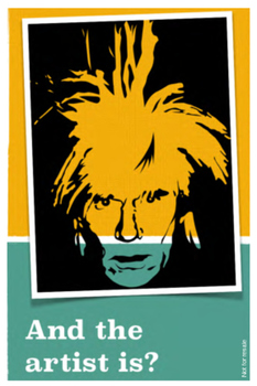 Andy Warhol - Artists of the world enrichment kit - Flashc