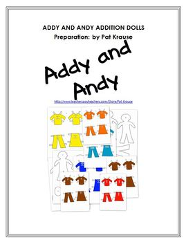 Addy and Andy - Addition Game