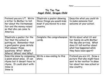 Angel Child, Dragon Child by Michelle Maria Surat Activities