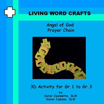 Angel of God Prayer Chain for Grades 1 to 3
