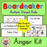 Anger / Behaviour Interactive Kit - Boardmaker Visual Aids