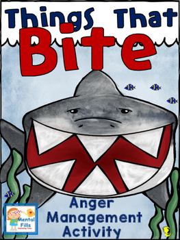 ANGER Management Interactive Cut and Paste Activity: Thing