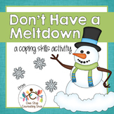 Snowman Coping Skills Activity