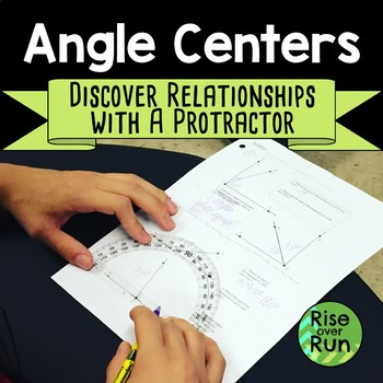 Angle Centers and Review, Complementary, Supplementary, Ve