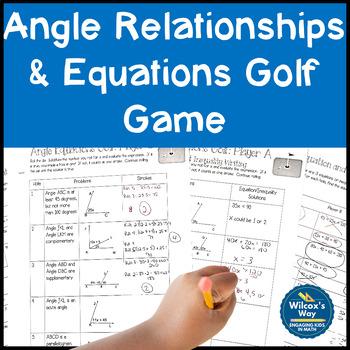 Angle Equation Golf Game