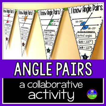 Angle Pair Relationships Pennant