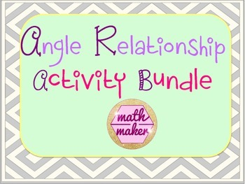 Angle Relationships 7th Grade Bundle