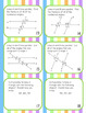 Angle and Triangle Task Card Activity Game