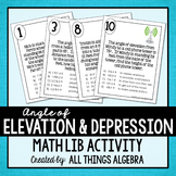 Angle of Elevation and Depression Math Lib
