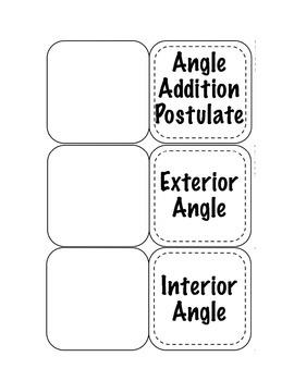 Angles Foldable