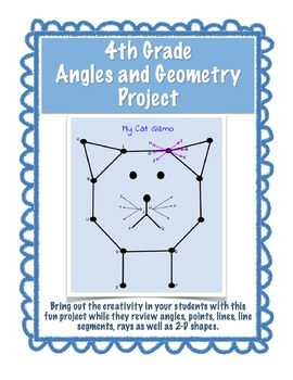 Angles & Geometry Project - EDITABLE