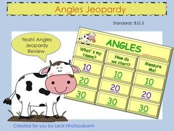 Angles Jeopardy