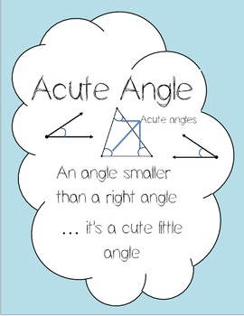 Angles, Parallel Lines, Regular/ Irregular Polygons Posters!!