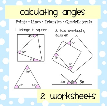 Angles (Points, Lines, Triangles, Squares)