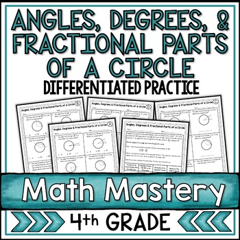 Angles, Degrees, & Fractional Parts of a Circle