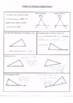 Angles of Triangles Guided Notes