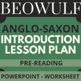 "Beowulf ""Introduction to Anglo-Saxon Culture"" PowerPoint 1"
