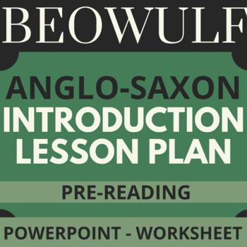Anglo-Saxon & Beowulf PPT