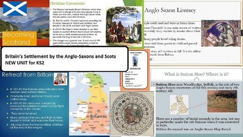 Anglo Saxon Teaching Resources New KS2 Unit