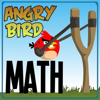 Angry Bird Math - A Kindergarten Game of Number Value, Cou