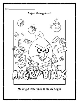 Angry Birds: Anger Management / Cool Down Strategies Color