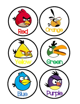 Angry Birds Colors