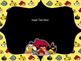 Angry Birds Themed Classroom Rules - Editable
