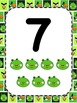 Angry Birds Themed Ten Frame and Number Posters