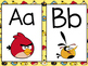 Angry Birds Themed Word Wall Letter