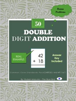 Ex: Double Digit Addition Common Core Standards Pack 2.NBT